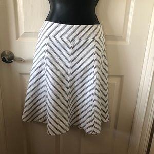 Loft - Size 6 A-line skirt